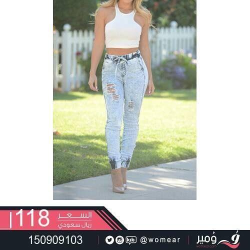 لاطلالة فاتنة تنبض انوثة بنطلونات نسائية مثيرة بنطال نسائي جينز فاشنستا بنات موضات Skinny Jeans Fashion Skinny