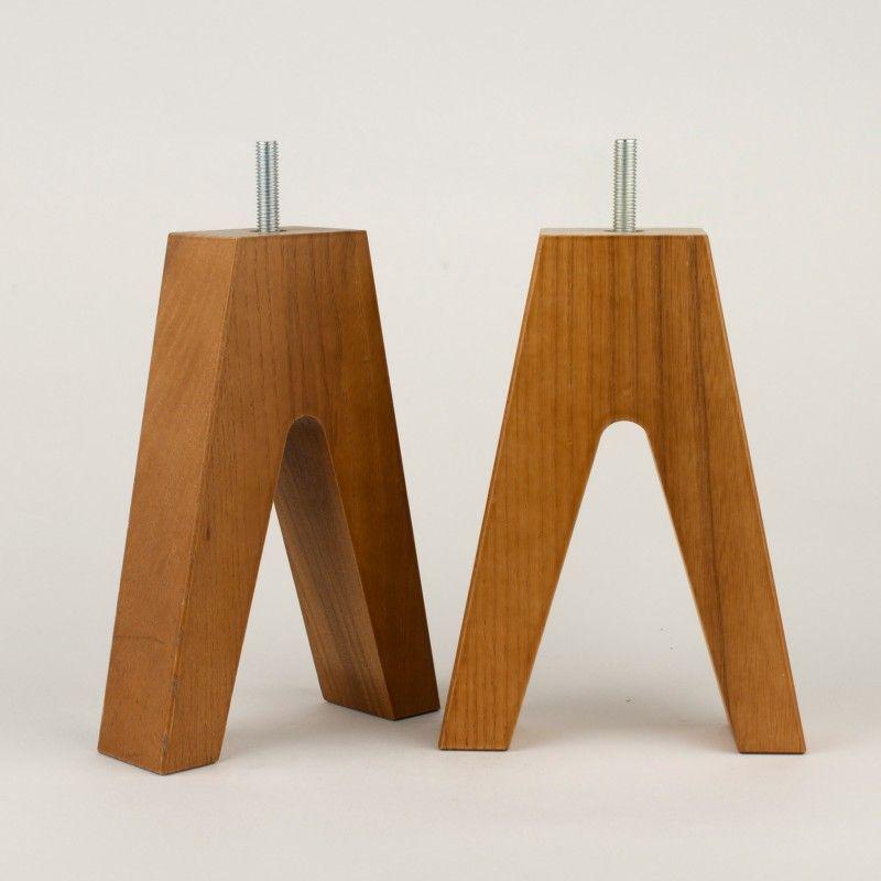 Furniture Leg In Ash Wood Hillevi 170 Furniture Legs Ikea