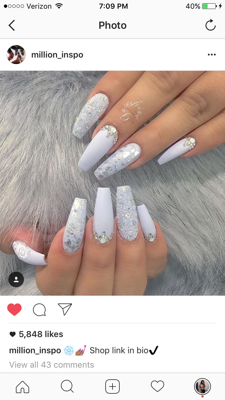 Pinterest Champagnekayyy Nails In 2019 Nails