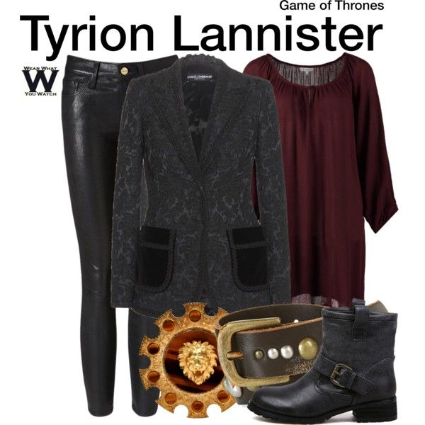 Inspired by Peter Dinklage as Tyrion Lannister on Game of Thrones.