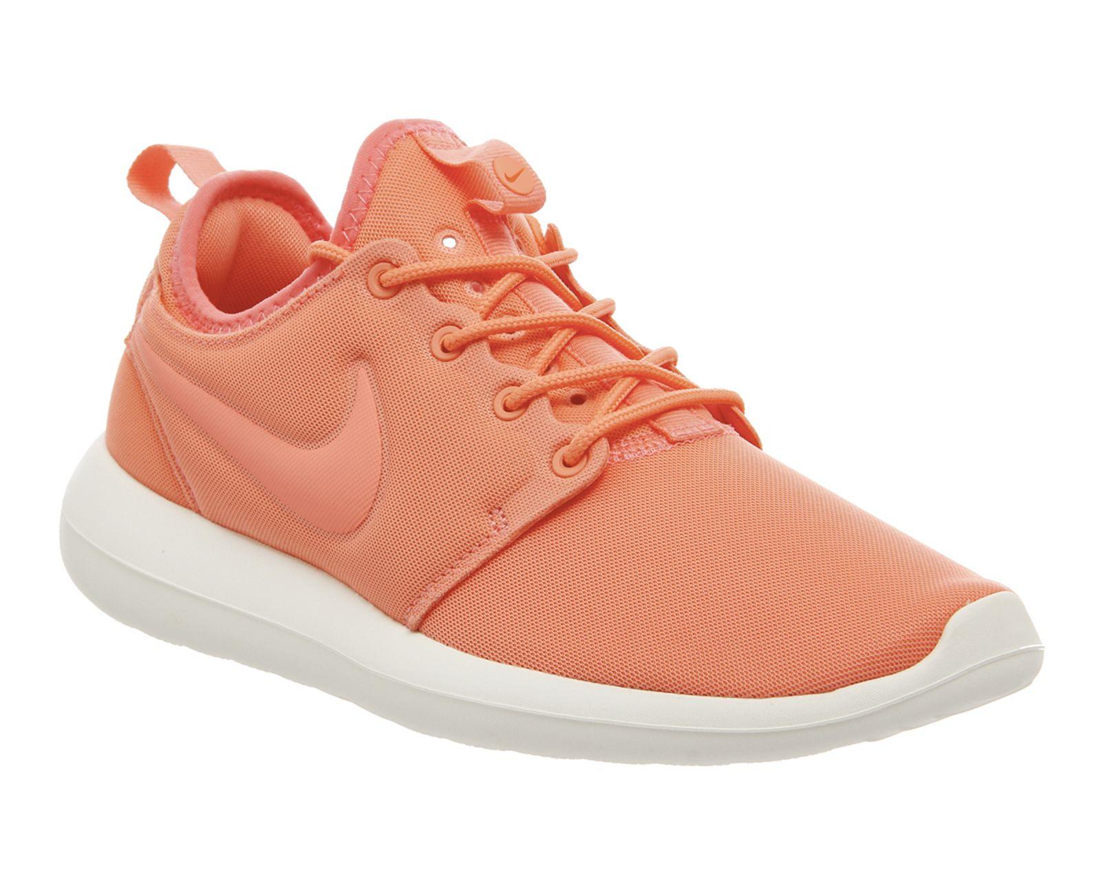 buy online 79ef6 632c2 Nike, Roshe Two, Atomic Pink Sail Turf Orange