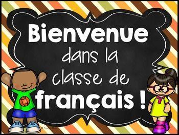Resultado de imagen para Bienvenue dans la classe de francais