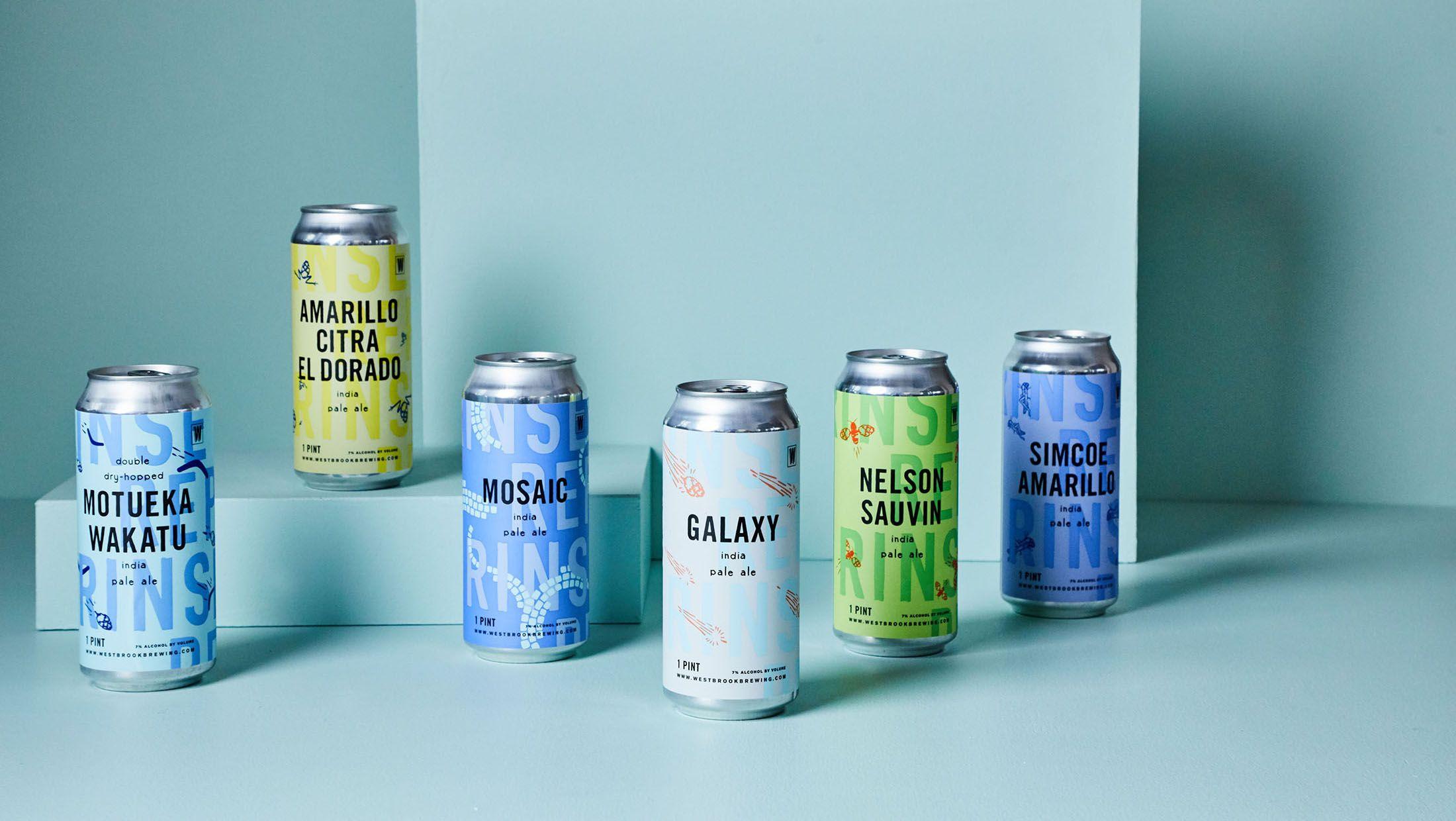 Sdco Partners Stitch Design Co Westbrook Beer Design Packaging Design Branding Design