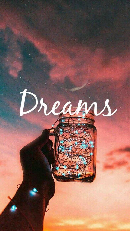 Dream Lights Iphone Wallpaper Iphone Wallpaper Wallpaper Quotes