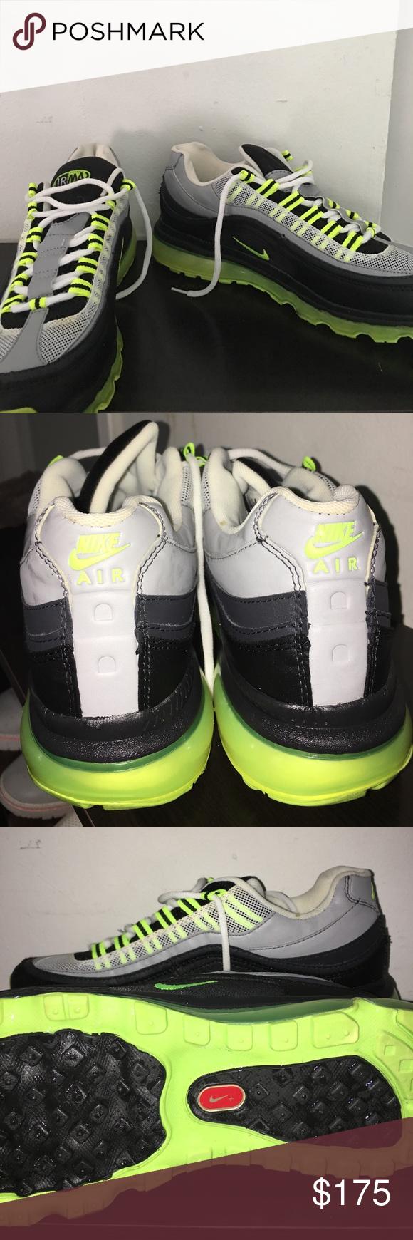 9b0384490169 Nike Air Max 24-7 MENS Worn Twice Over The Summer (Semi-New) Neon-Green