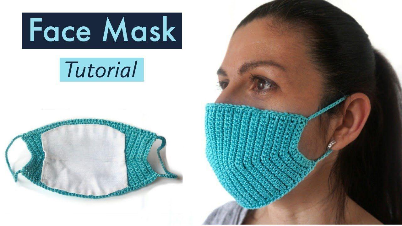 How to make Crochet Face MASK DIY Heklana Maska za Lice