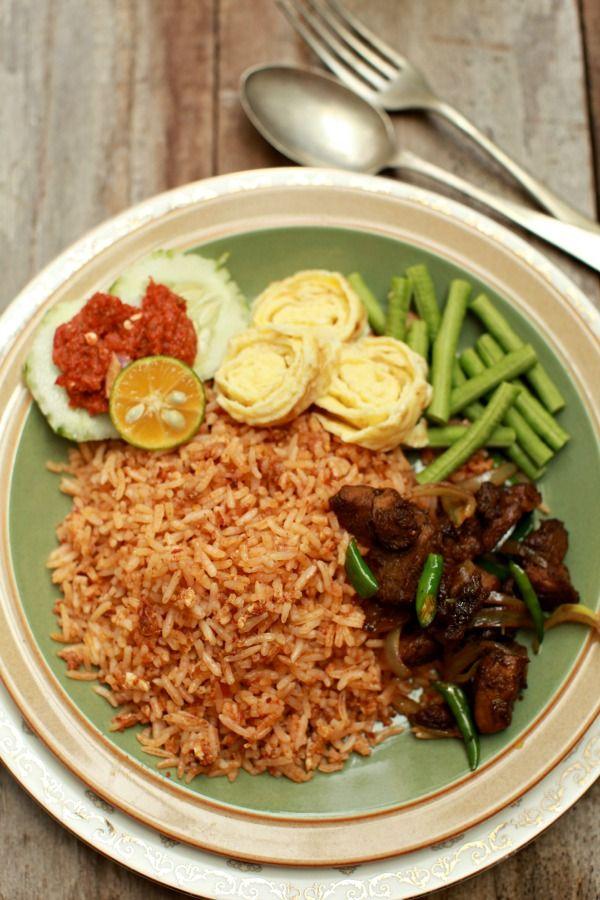 Dapur Bujang Home Facebook Masam Manis Nasi Goreng Belacan Spesial Indonesian Rice