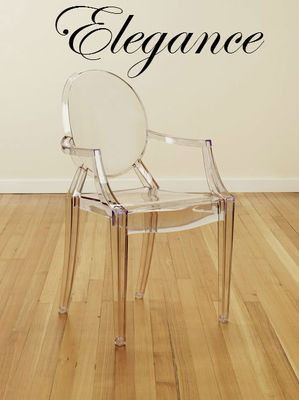 Miraculous Im In Love With These Louie The 16Th Acrylic Arm Chairs Ibusinesslaw Wood Chair Design Ideas Ibusinesslaworg