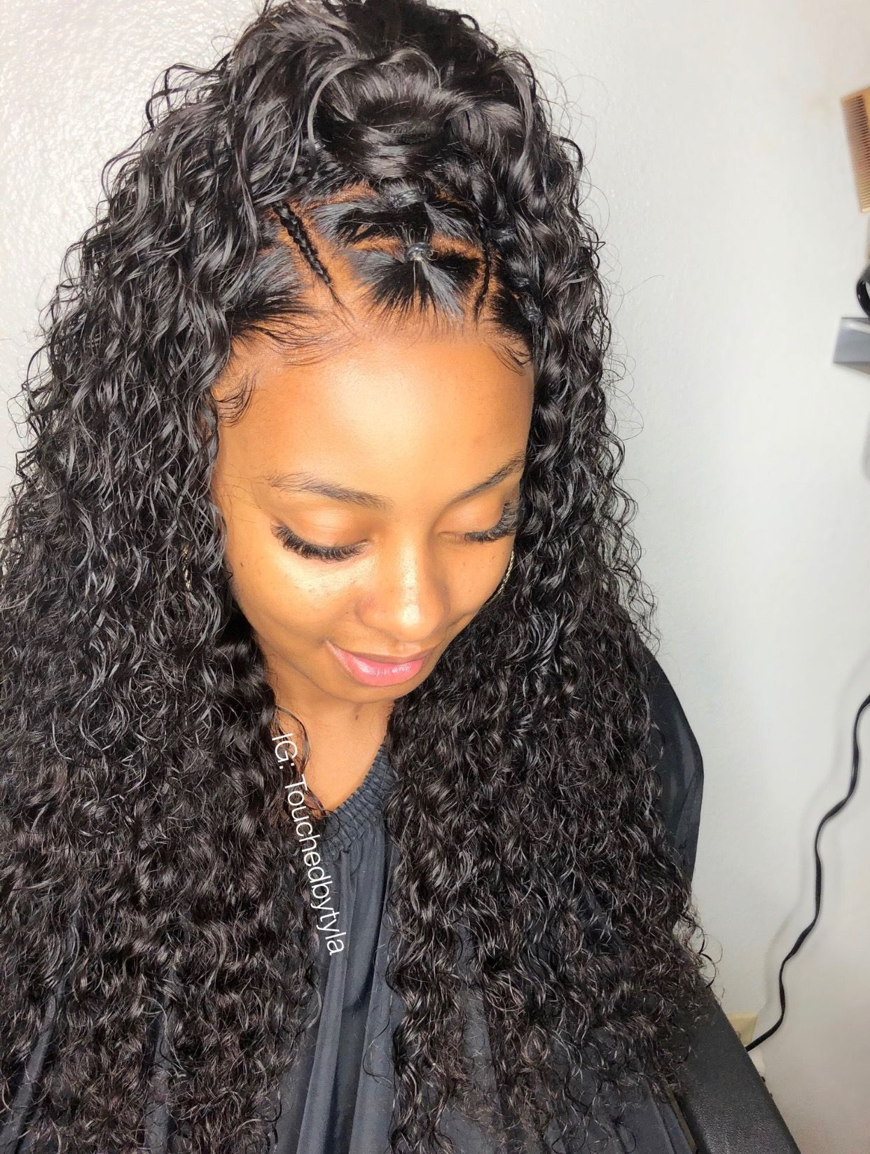 29+ Deep wave hairstyles with leave out ideas