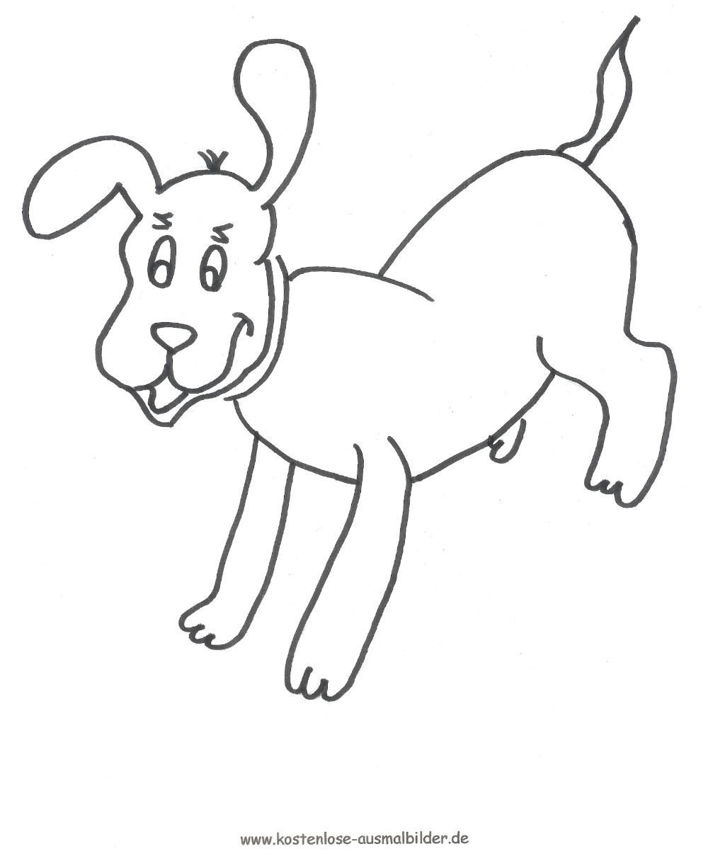 Ausmalbild Welpe   Ausmalbilder hunde, Welpen, Hunde