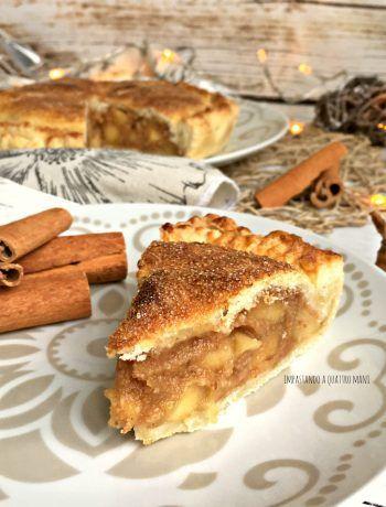 Photo of torta apple pie, torta di mele americana di nonna papera Le