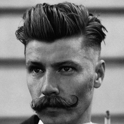 47 Slicked Back Hairstyles (2020 Guide)   Rockabilly frisuren männer, Rockabilly frisur und Frisuren