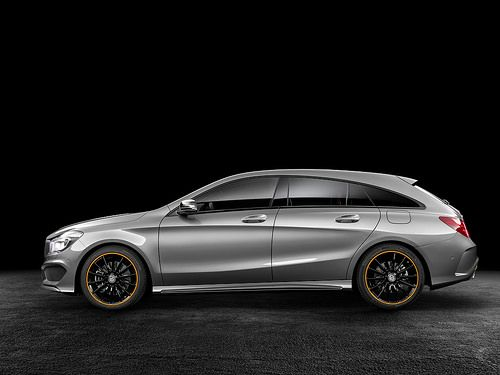 Mercedes Benz Cla 250 4matic Shooting Brake X117 2014 Shooting