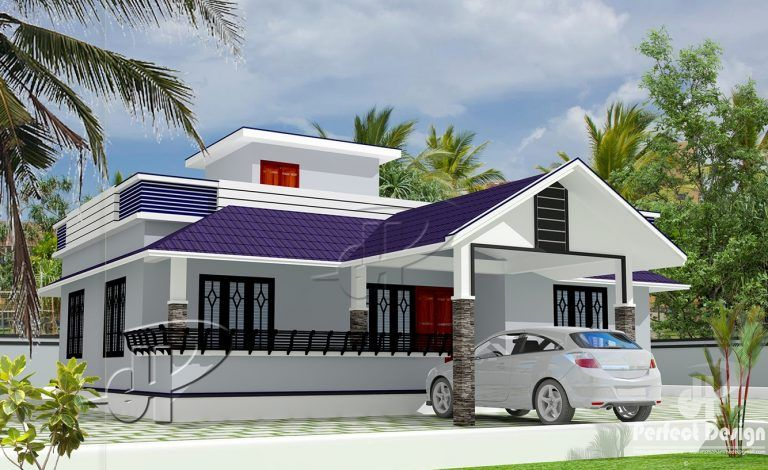 This House Plan Is Designed To Be Built In 111 Square Meters Model House Plan Beautiful House Plans Three Bedroom House