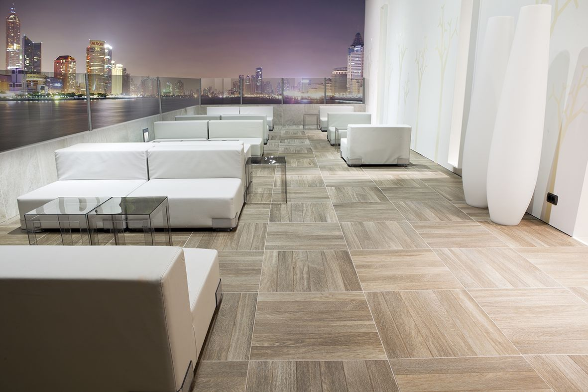 Pvto Floor Sol Teka Adz Mocha Decor Pavimento Exterior  ~ Suelos Antideslizantes Exterior