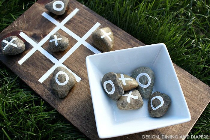 DIY-OUTDOOR-TIC-TAC-TOE-GAME #FavThingsHop