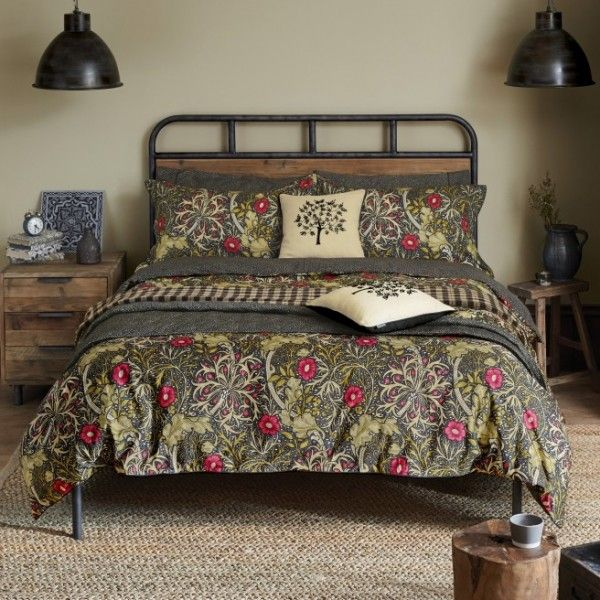 William Morris Co William Morris Seaweed Duvet Cover Bed Linens Luxury Luxury Bedding Bed Design