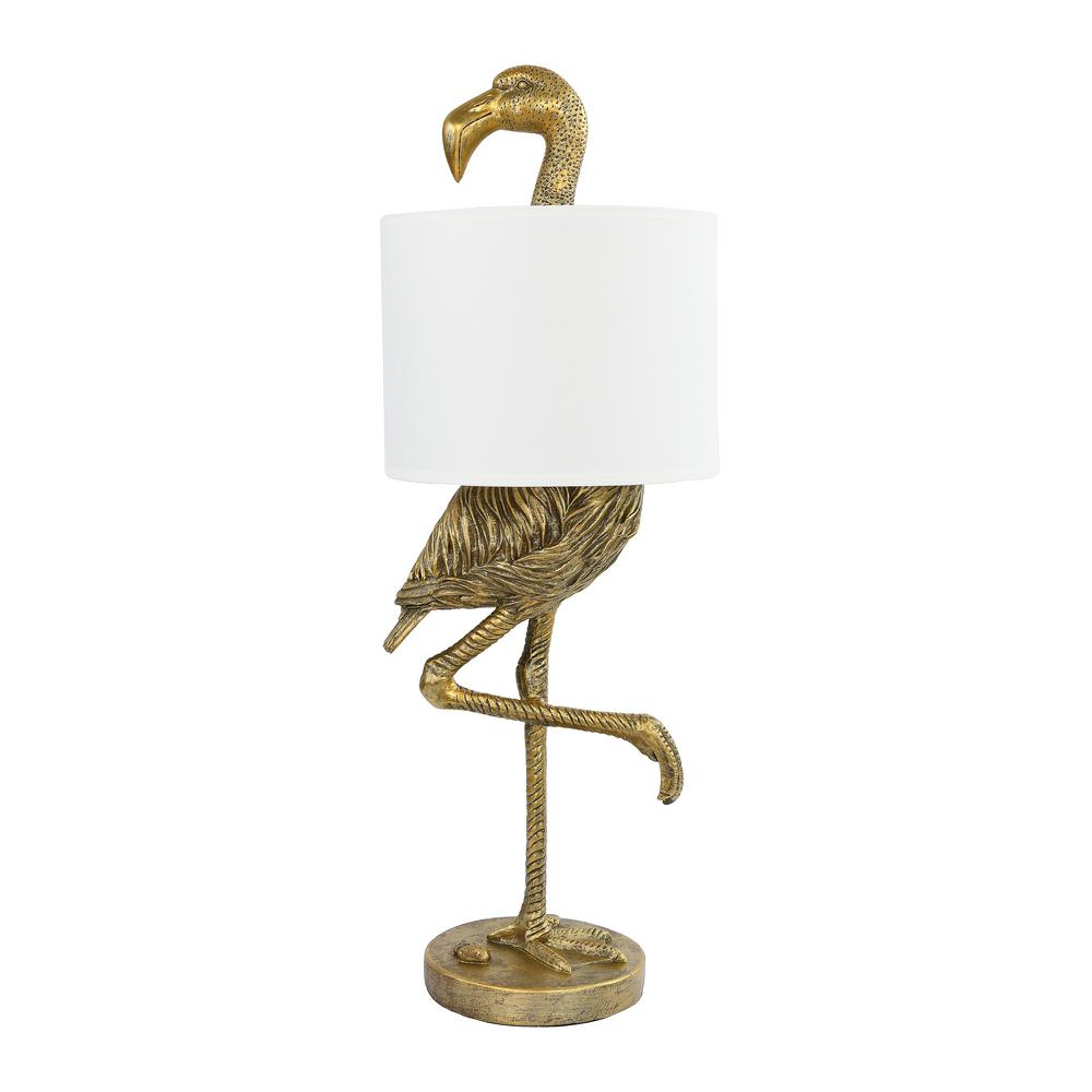 Gold Flamingo Shaped Table Lamp in 2020 Lamp, Table