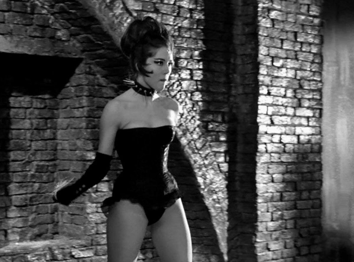 Diana Rigg in The Avengers (1965)   Raiders of the Lost Tumblr