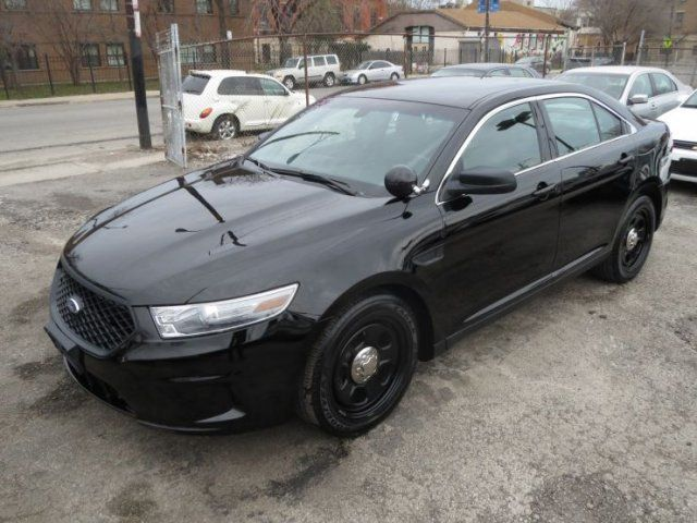 2013 Ford Police Interceptor Sedan Based On The Current