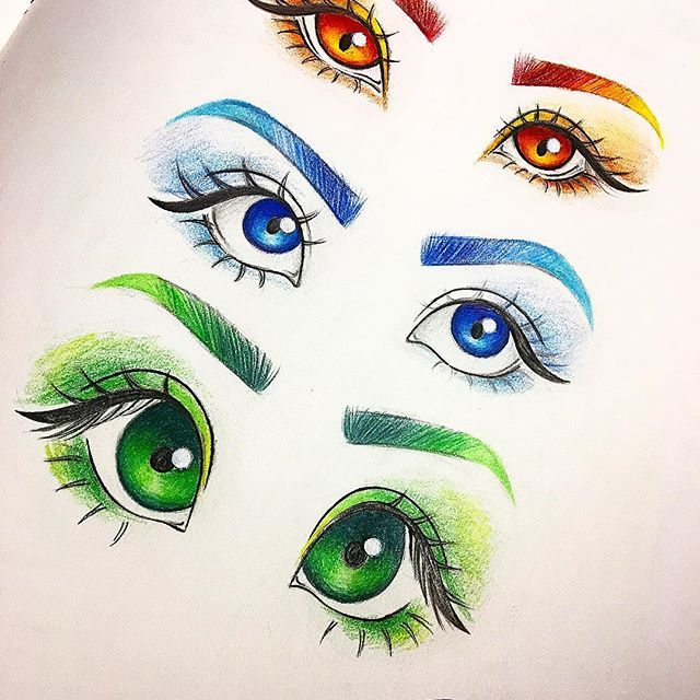 This is a graphic of Comprehensive Different Types Of Eyes Drawing