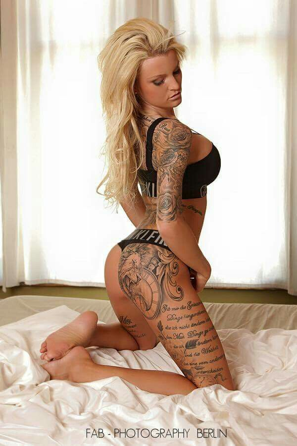 tattooed babes