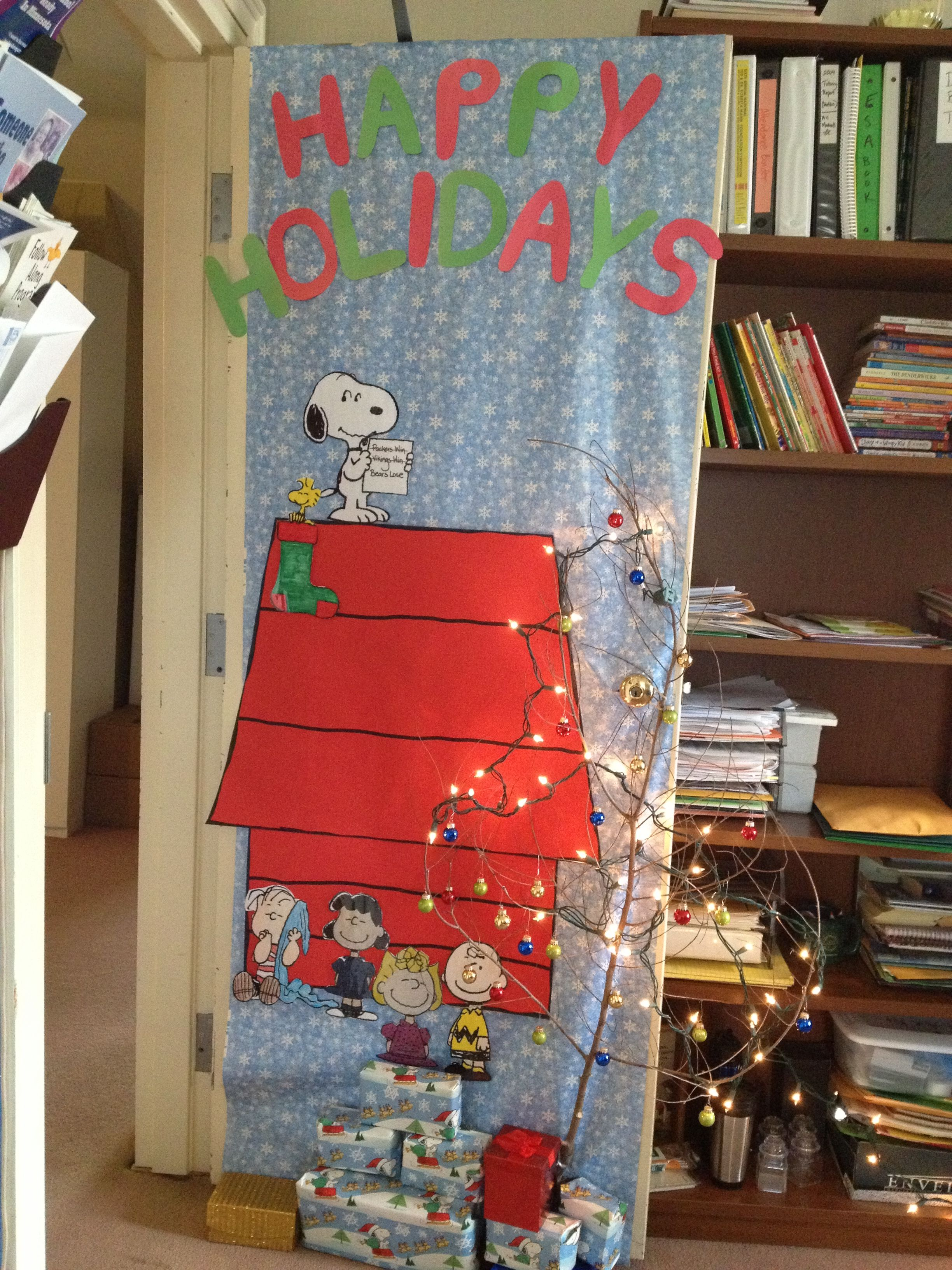 Holiday Door Decorating Contest Christmas