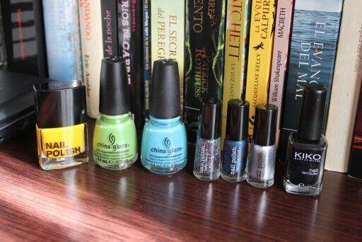 Nails polish, my news colors