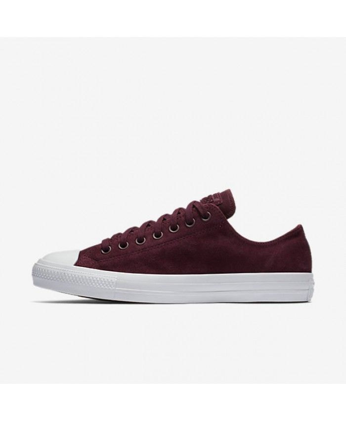 30188dcb9d1b22 Converse Chuck Taylor All Star Water Resistant Suede Low Top Red 157599C-626