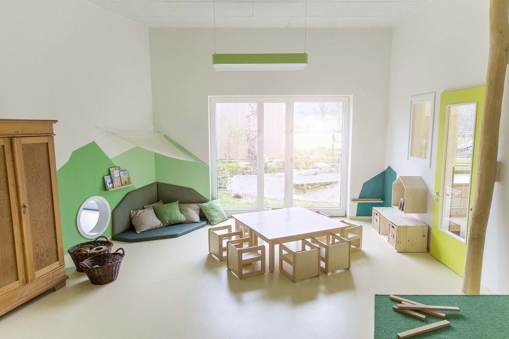 kita kristiansand der ulna nord ggmbh in norderstedt soziales deign von mjuka geb udeplanung. Black Bedroom Furniture Sets. Home Design Ideas