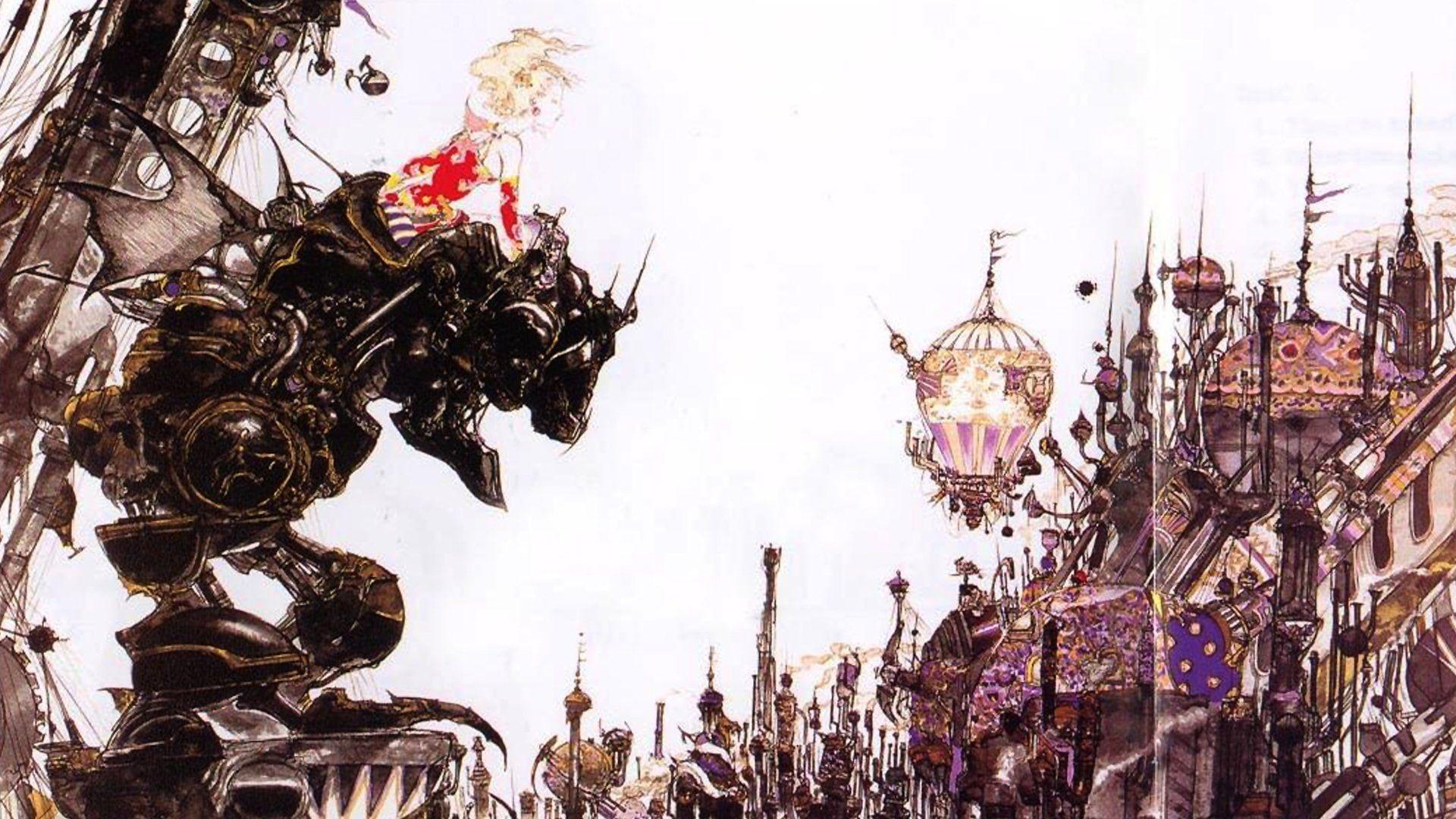 Final Fantasy Final Fantasy Vi 1080p Wallpaper Hdwallpaper Desktop In 2021 Final Fantasy Vi Hd Wallpaper Final Fantasy