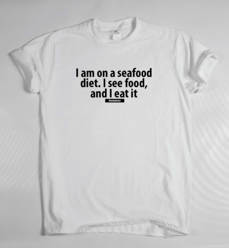 c5cc9142 Sea-food-diet-T-shirt-quote-funny-inspirational-motivational-success-gym -geek