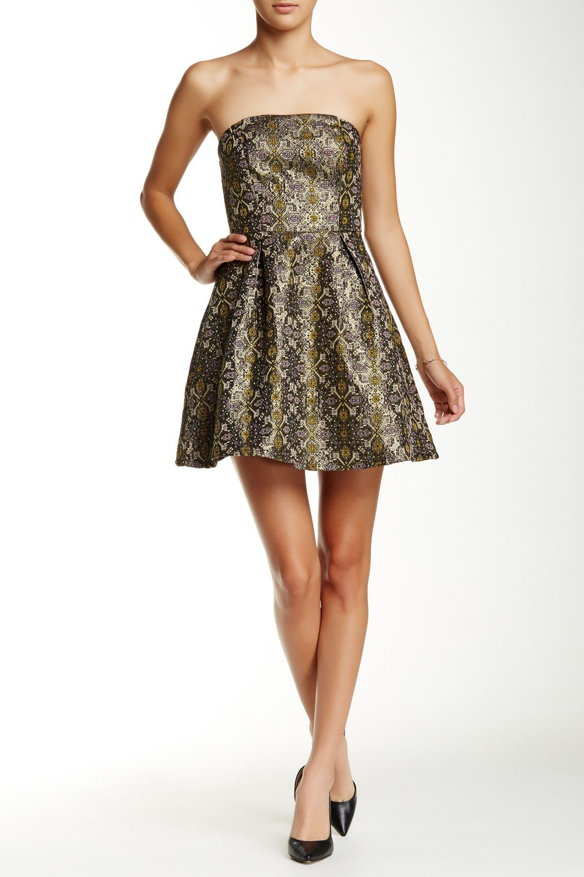 Strapless Baroque Dress | Baroque dress, Semi dresses and Nordstrom