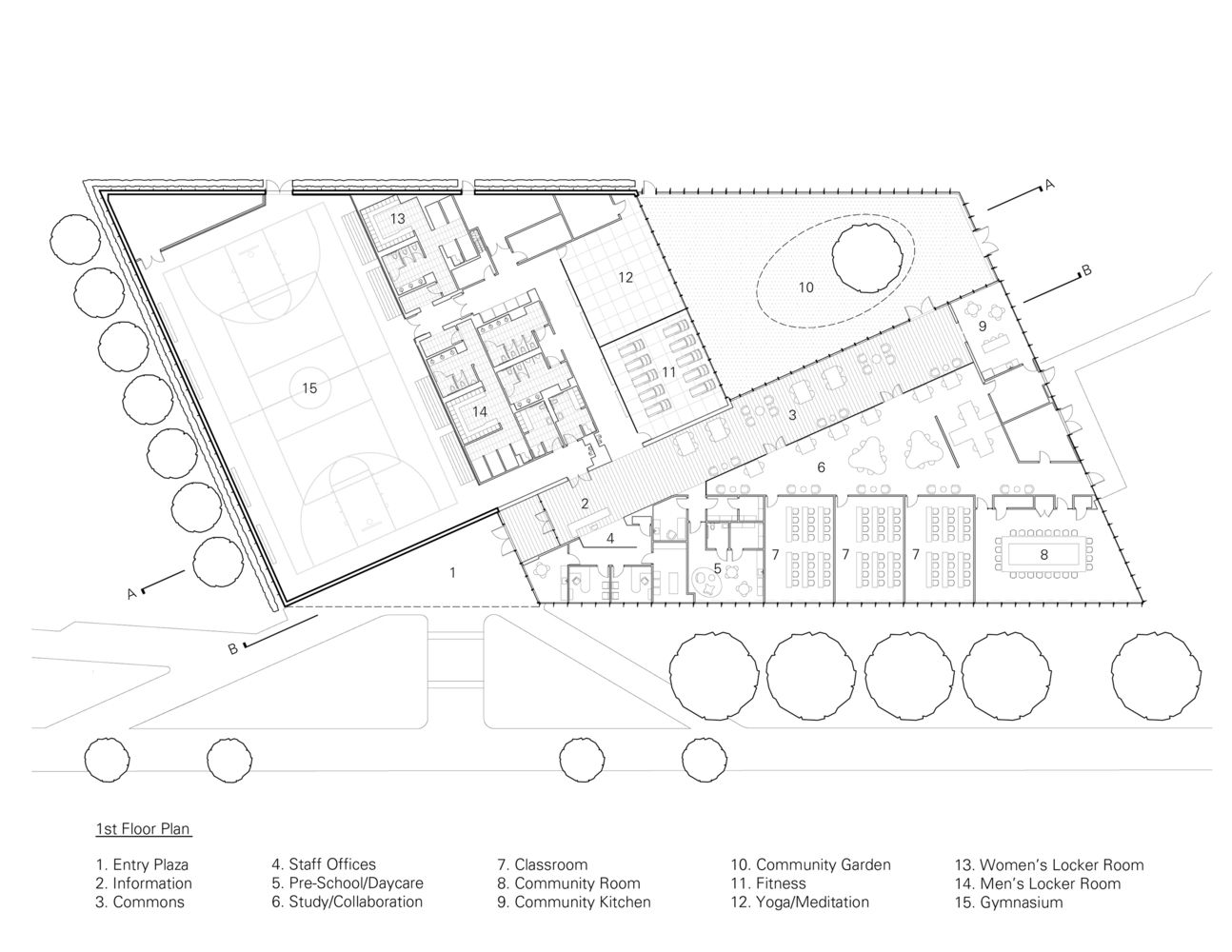 Gallery Of Trec Newark Housing Authority Ikon 5 Architects 12 Education Center How To Plan Architect