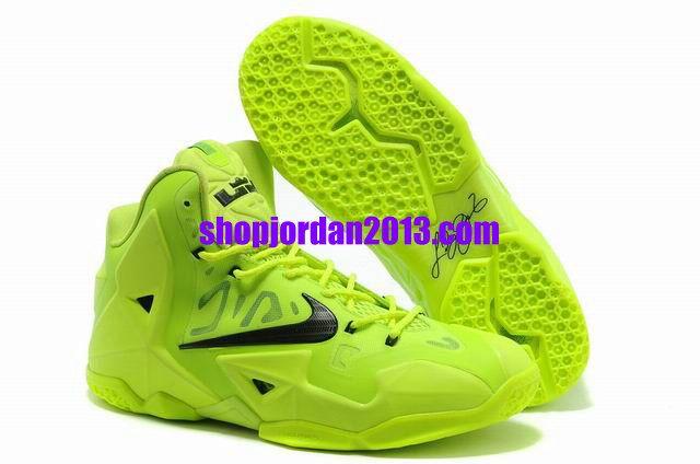 Nike Lebron 11 Fluorescent Green Lebron