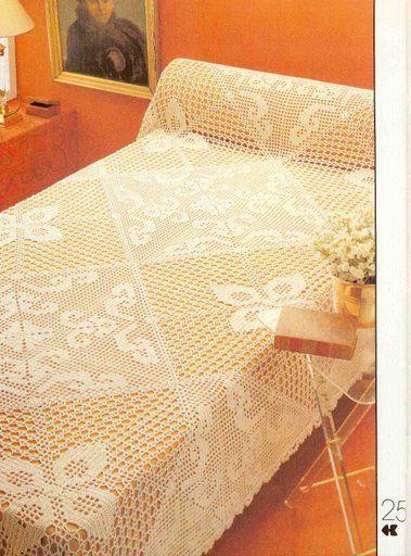 مفارش اسره كبيره Bed Spreads Crochet Bedspread Pattern Crochet Bedspread