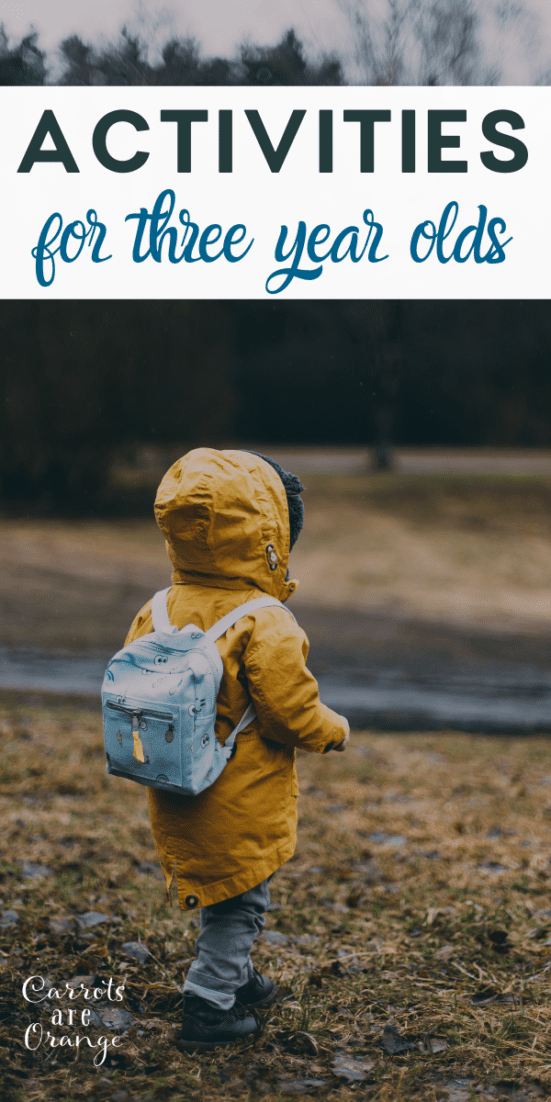 Super Fun Montessori Activities & Games for 3-year-olds