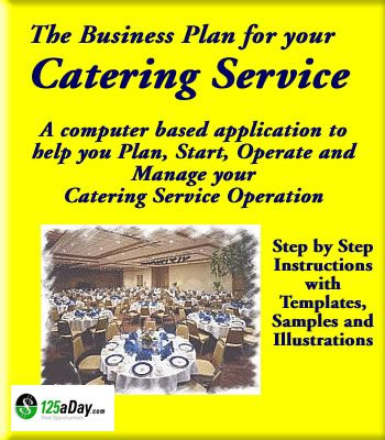 Catering Service Business Plan  Food Related Businesses