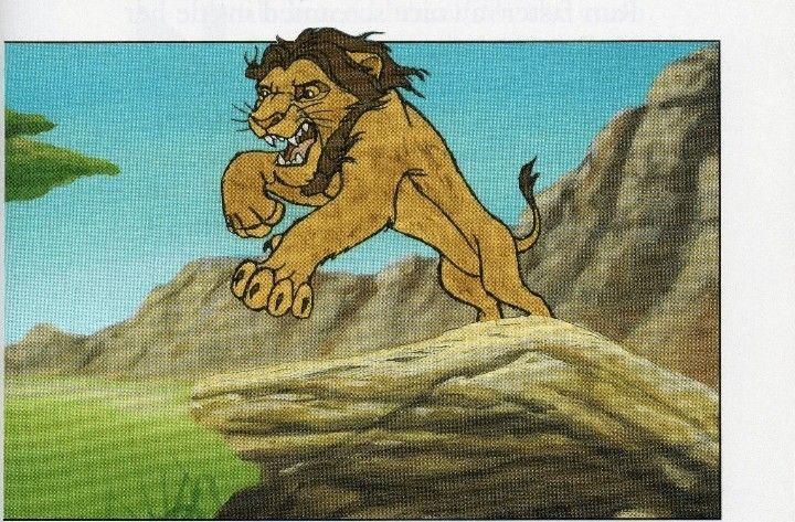 The Lion King Characters Panosundaki Pin
