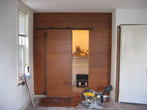 Ikea Hackers Walk In Closet From Kitchen Wall Panels