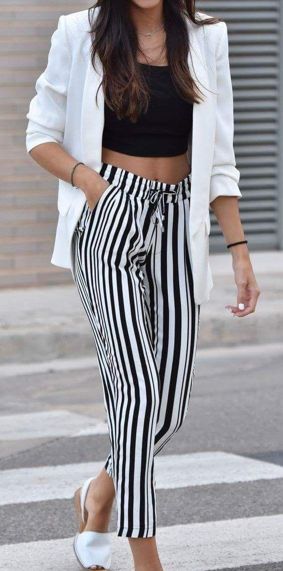 super popular 9851d 6e85d Pin de Paola Rodriguez en Coats   Pantalones elegantes ...