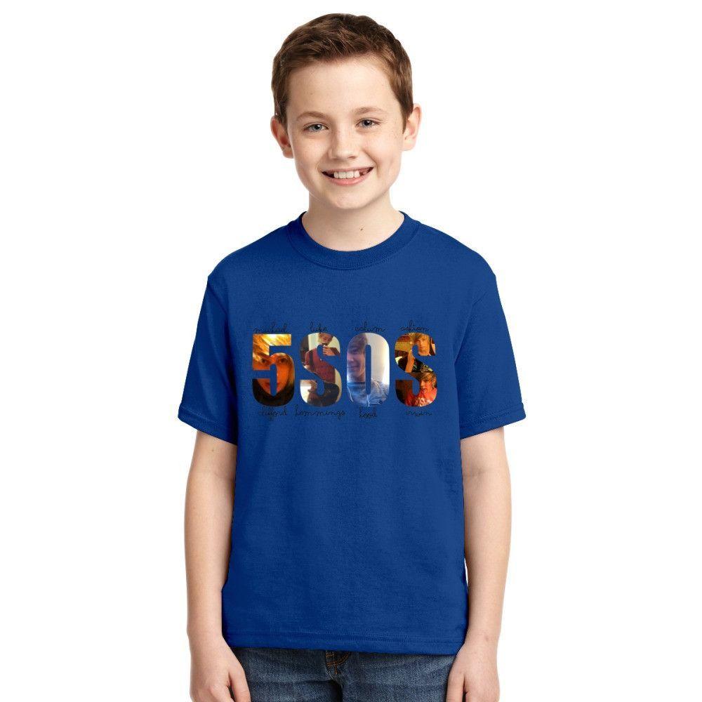 5SOS Typografi Youth T-shirt