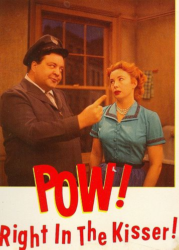 HONEYMOONERS 50/'S TV SHOW CAST ALICE MAD /& RALPH  TO THE MOON PUBLICITY PHOTO