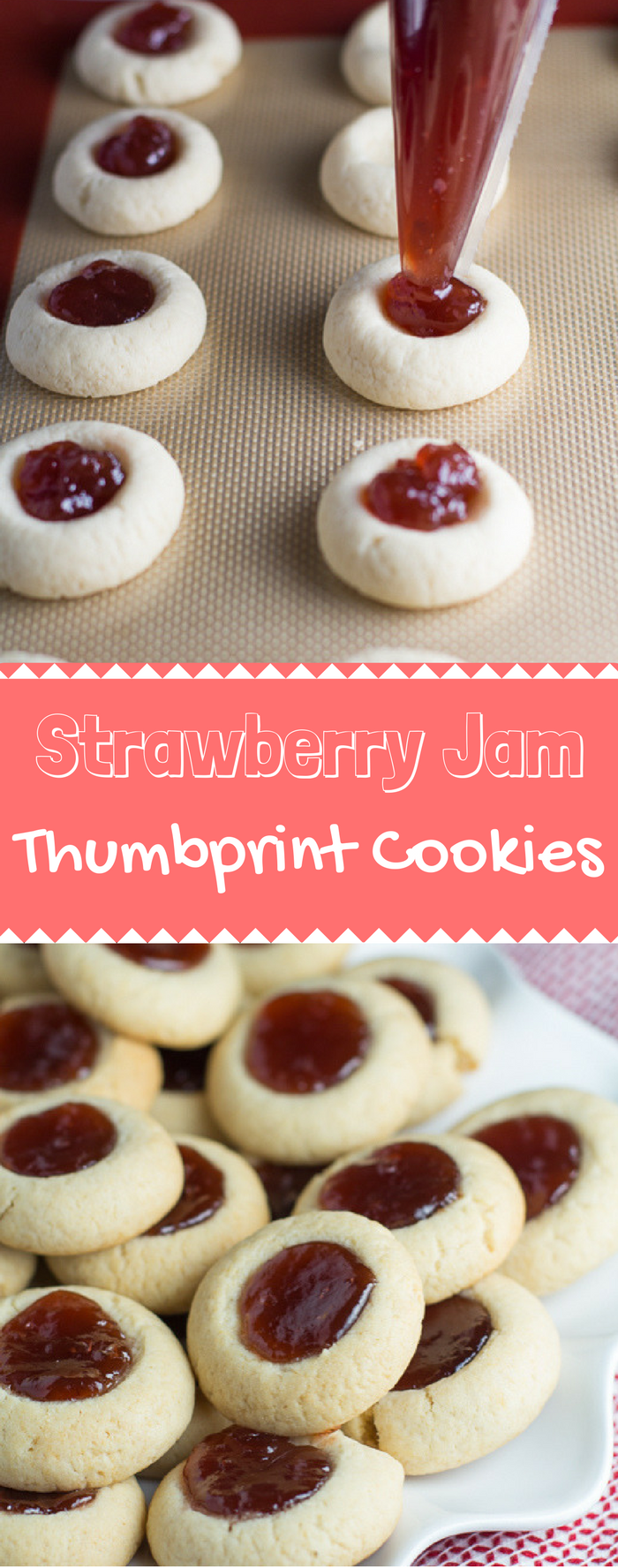 strawberry thumbprint cookies are easy, versatile, and addictive -- the possibilities are truly endless here!