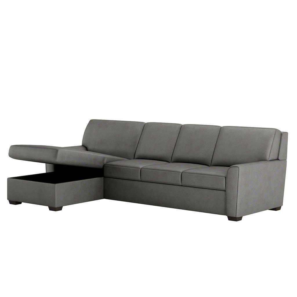 Klein Comfort Sleeper Sectional Sofa By American Leather Storage Ottoman American Leather Sleeper Sofa Leather Sleeper Sofa Sofa Price