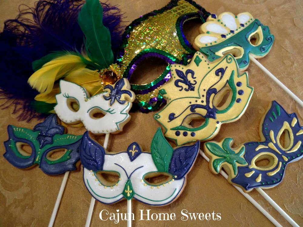 Plain Mardi Gras Masks To Decorate Stunning Mardi Gras Mask Set 2  Cookie Connection  Cookies  Pinterest Design Ideas
