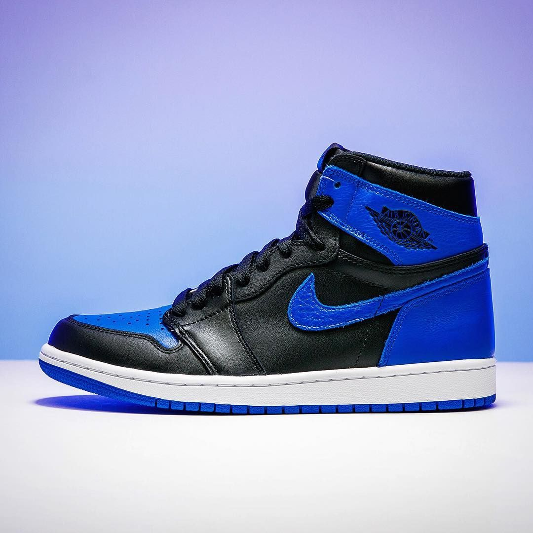 """a8abe789ccd3f3 Stadium Goods on Instagram  """"Always regal. The Air Jordan 1 """"Royal"""" is  inarguably one of the greatest colorways for one of the all-time best  silhouettes."""