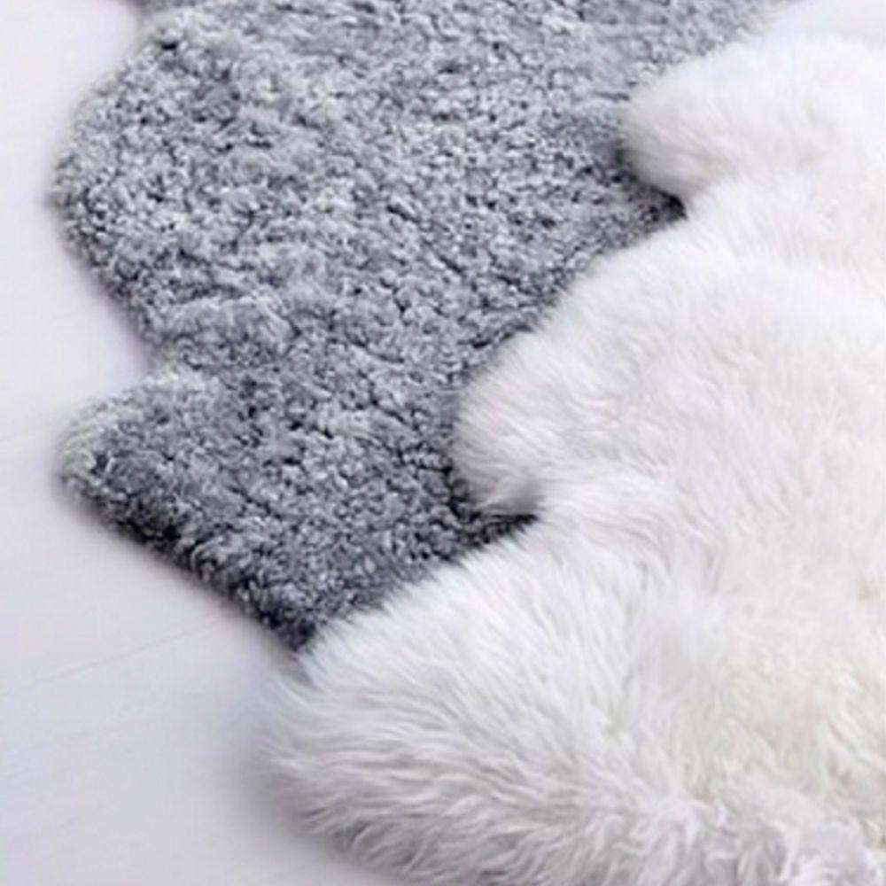 White Ikea Faux Sheepskin Sheep Skin