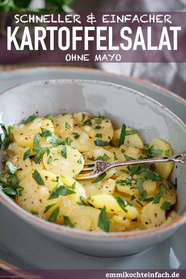 Klassischer Kartoffelsalat ganz einfach gemacht - emmikochteinfach #potatosalad