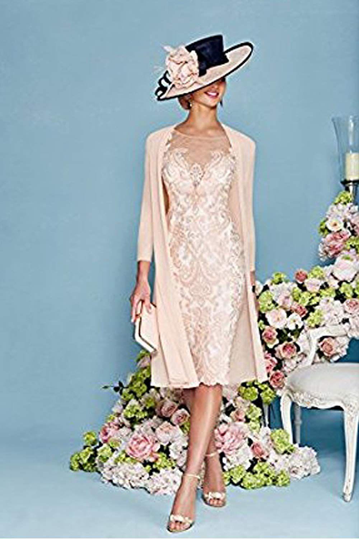 dressvip elegant rosa chiffon kleider damen festlich (32
